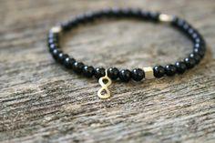 Black Onyx bracelet 🖤 Healing crystals https://www.instagram.com/jewelrybyclo