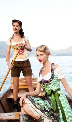 Authentic Ladies Women Short Lederhosen German Bavarian Trachten Oktoberfest LB5