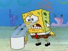 Spongebob Pics, Funny Spongebob Memes, Cartoon Memes, Cartoon Icons, Cartoon Drawings, Cartoons, Cartoon Art, Cartoon Characters, Squidward Meme