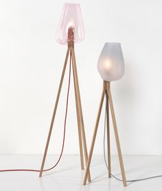 Hanna Krüger. 'add.on' a series of individually handmade lamps