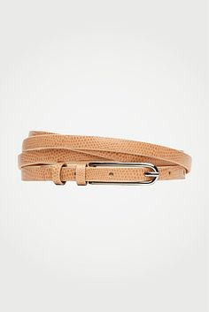 DVF | Sonya Double Wrap Belt In Nude, Resort 2012/13: Zoom