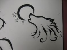 28 Best Easy Wolf Tattoos Images Simple Wolf Tattoo Awesome