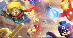 First Footage Of 'LEGO Marvel Super Heroes' Revealed