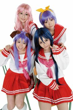 Lucky star cosplay | lucky-star-cosplay.jpg (lol, would like to get some friends to do this! so much fun!!!)
