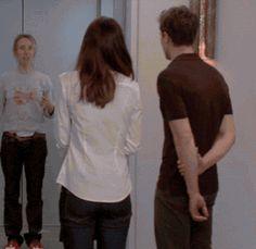 Fifty shades of grey movie bts Jamie Dornan and Dakota Johnson and Sam Taylor Johnson