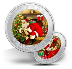 I got thid beautiful hologram coin this Christmas too! Hologram, Holographic, Canadian Coins, Coins Worth Money, Coin Worth, True North, Money Matters, Coin Collecting, Nerdy
