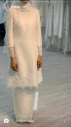 Muslimah Wedding Dress, Muslim Wedding Dresses, Blue Wedding Dresses, Wedding Attire, Bridal Dresses, Wedding Gowns, Hijab Bride, Muslim Brides, Wedding Hijab