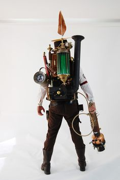 Dr. Mortimer J. Torque, Inventor, Tinkerer, and Steamologist of the Apparition Abolishers