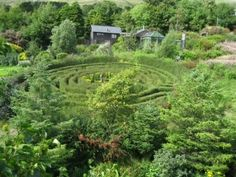 the labyrinth at Hagal Farm in Co. Cork Ireland | I will go here...Co ...