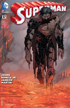 SUPERMAN #37 by Geoff Johns & John Romita Jr.