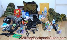 what goes in a bug out bag.  Bug out gear is essential to survival.