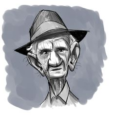 Old Man. Character Design