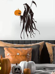 Halloween Skull Wall Sticker