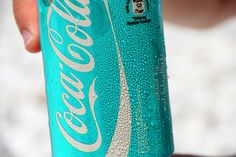 oh my goodness, so cool! Tiffany blue coke can!