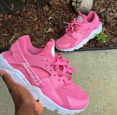 Image via We Heart It #pink #shoes