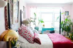 """""""Luxe Bohemian Fairy Tale Discotheque"""" Style In Oakland — House Tour"""