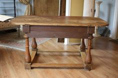 18th Century Gustavian Period Painted Farmhouse Table http://www.1stdibs.com/furniture/tables/farm-tables/