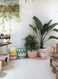 DIY Painting Pots for the home