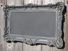 Chalk board for the kitchen... could be a good DIY project.