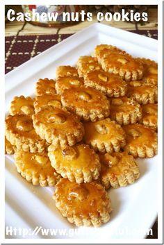 Cashew Nut Cookies (腰豆酥饼)#guaishushu #kenneth_goh #cashew_nuts_cookies