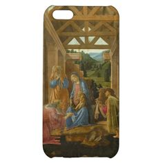 #adoration of the #magi by #botticelli #art #case #iphone 5c #iphone5c #renaissance