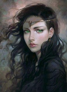 Saltcha Green-Eyes; Daughter of Rahl