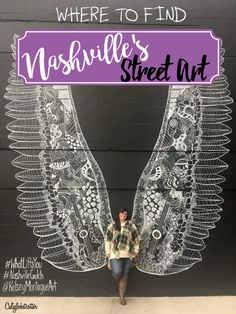 Nashville's best and easiest Street Art to find! - Tennessee - California Globetrotter