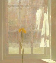 Jan Van Der Kooi, Studio Window in May, 2008, oil on panel