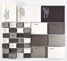 Швейцарцы Давид Зано и Нино Карье разработали айдентику для собственного бюро графического дизайна MARKS.