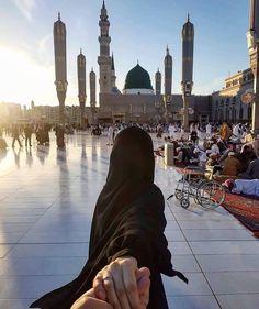 Muslim Images, Islamic Images, Islamic Pictures, Cute Muslim Couples, Muslim Girls, Muslim Women, Muslim Family, Mecca Islam, Mecca Kaaba
