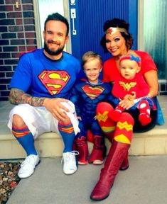 Fun family costumes for Halloween!