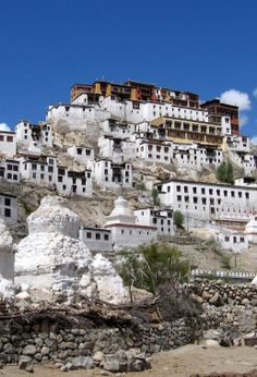 "Ladakh, a word which means ""land of high passes"", is a region in the state of Jammu and Kashmir of Northern India sandwiched between the Karakoram mountain range to the north and the Himalayas to the south."