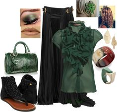 """Clover"" by mshyde77 on Polyvore"