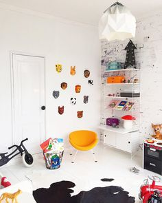 Nice Kids' Bedrooms on Instagram: @Bea_kroeze http://petitandsmall.com/kids-bedrooms-instagram-bea-kroeze/