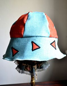 Handmade floppy sun hat sunhatsummer hats by Liquidshiva on Etsy, $38.00