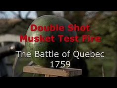 One of the major climactic scenes in this story is the Battle of the Plains of Abraham (also called the Battle of Quebec) of September 13, 1759.  The British troops were spread out into two thin red lines stretching a mile long and ordered to double-charge their muskets (i.e. to load a musket with two balls).  The end result was quite a devastating impact on the French forces.  Charles, as a soldier in the British Army, saw this firsthand - from the winning side, of course. ;)