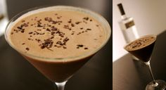 After Dinner Desert Bar Menu to include - Chocolate martini, baileys, and port.