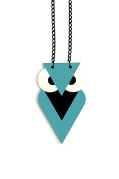 Love this owl necklace!  a lot.  <3