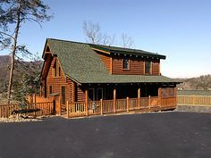 Cabin rentals in Pigeon Forge at http://www.encompassvacations.com