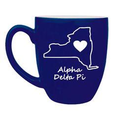 Alpha Delta Pi Sweet Home Bistro Mug from GreekGear.com