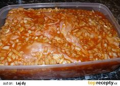 naložené maso Nalu, Lasagna, Macaroni And Cheese, Ethnic Recipes, Food, Mac And Cheese, Essen, Meals, Yemek