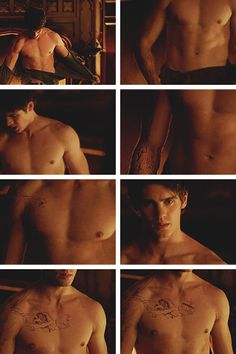Why does every episode not revolve around him ripping his shirt off to find magical tattoos all over his body??