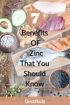Zinc is a trace mineral, so we need only small amounts but it plays a huge role in our health. It's estimated that zinc binds with more than 3,000 different proteins in the human body, and in?uences many of our internal processes. And in this article we will provide you with 7 zinc benefits so keep reading. #Zinc #healthy #selfcare