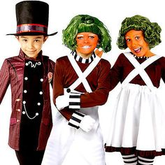 #Charlie and the chocolate factory kids fancy #dress book day #childrens costumes,  View more on the LINK: 	http://www.zeppy.io/product/gb/2/381547006278/