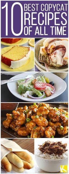 The 10 Best Copycat Recipes of All Time - Food Inspiration Healthy Healthy Recipes, Great Recipes, Dinner Recipes, Cooking Recipes, Favorite Recipes, Cooking Bacon, Cooking Turkey, Grilling Recipes, Summer Recipes