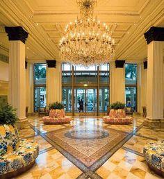 Versace Palazzo hotel Lobby Dubai