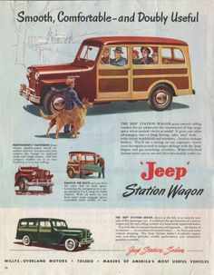 Jeep Willys Station Wagon Smooth Comfortable – Sold (1949)
