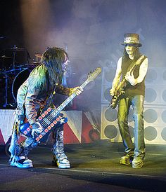 A Nikki Sixx / Mick Mars image for your Motley Crue #AllBadThings #photo of the day. #RIPMotleyCrue #MotleyCrue #NikkiSixx #mickmars