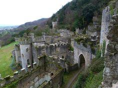 Castillo de Gwrych, Abergele, Gales del Norte.