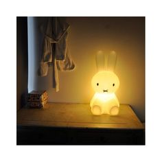 Miffy Lamp: Perfect for a nursery. Available in 2 sizes. @Divya Silbermann (Bhaskaran) #Miffy_Lamp #Bunny_Lamp #Kids